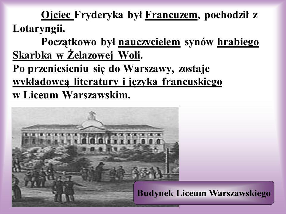 Budynek Liceum Warszawskiego