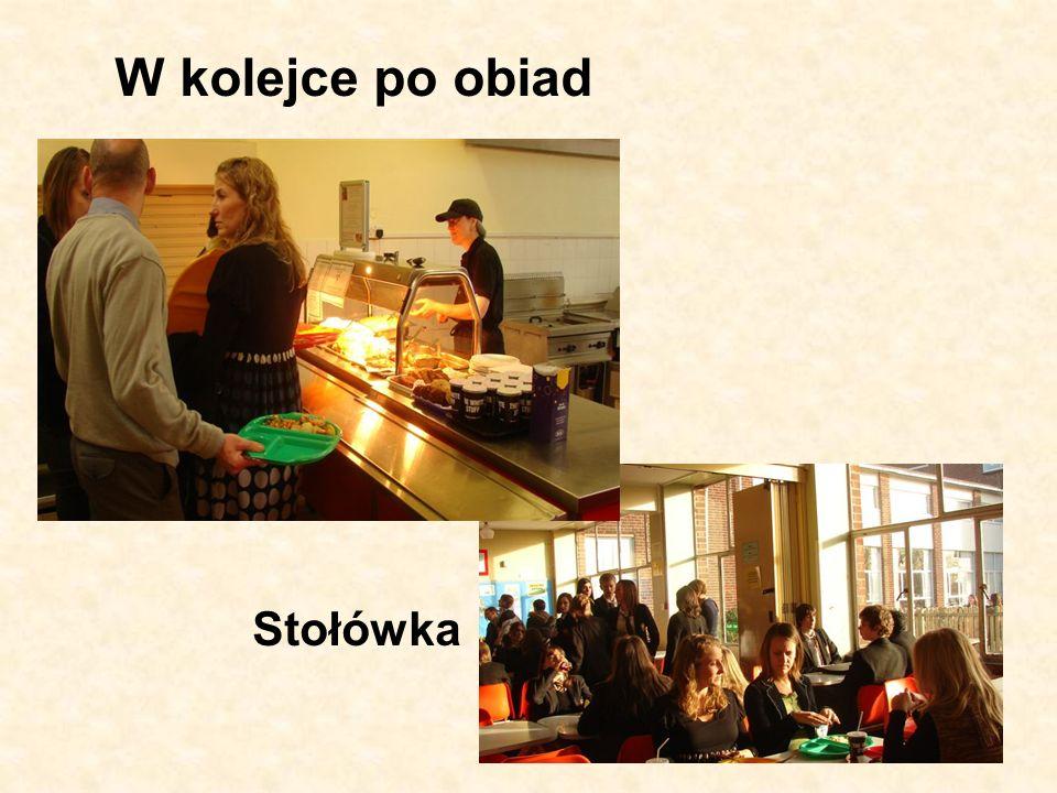 W kolejce po obiad Stołówka
