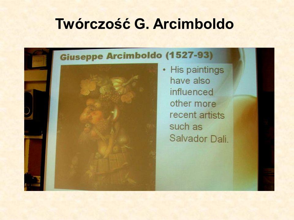 Twórczość G. Arcimboldo