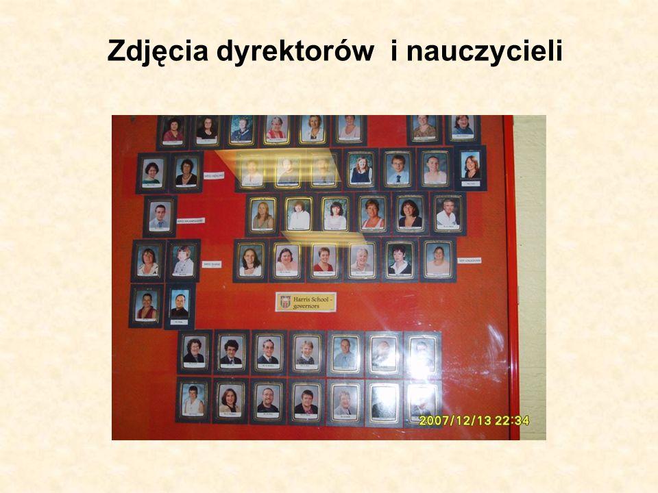 Zdjęcia dyrektorów i nauczycieli