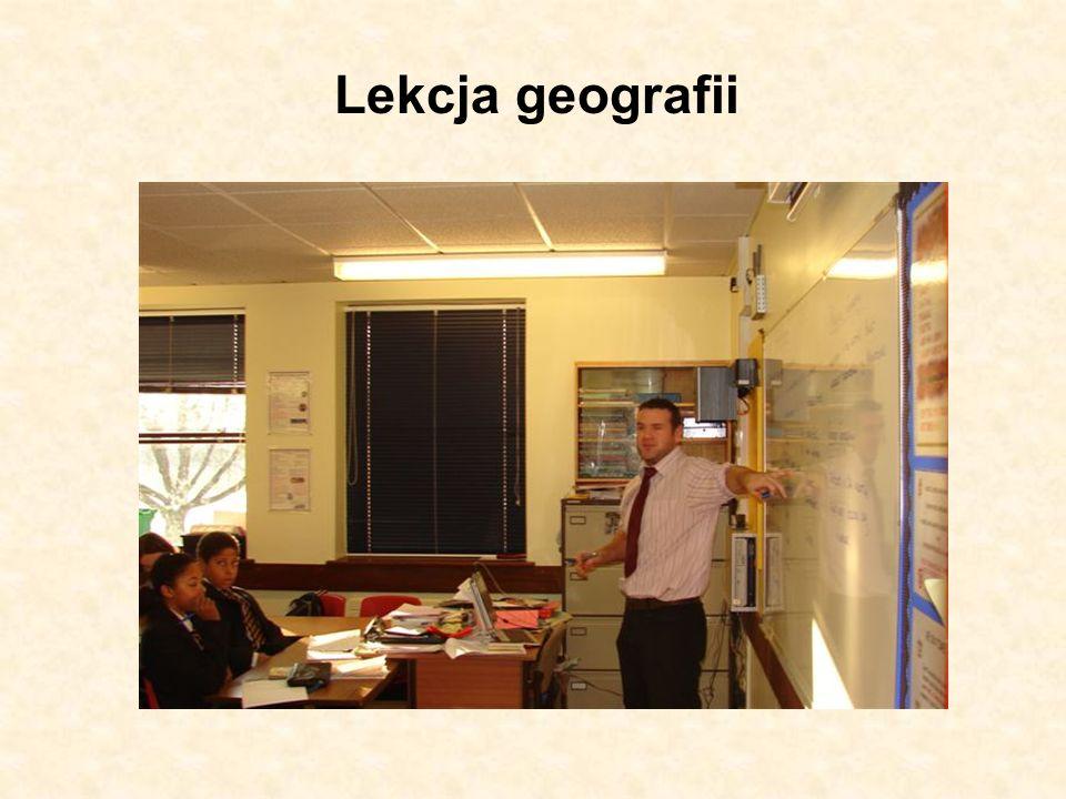 Lekcja geografii