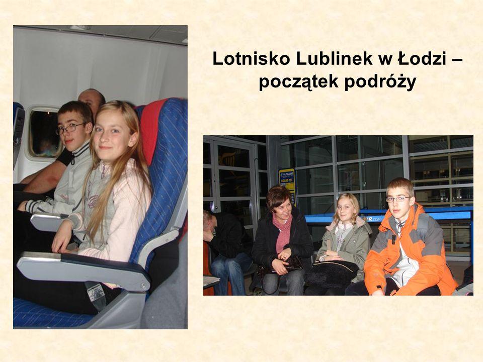 Lotnisko Lublinek w Łodzi – początek podróży