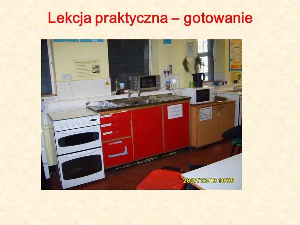 Lekcja praktyczna – gotowanie