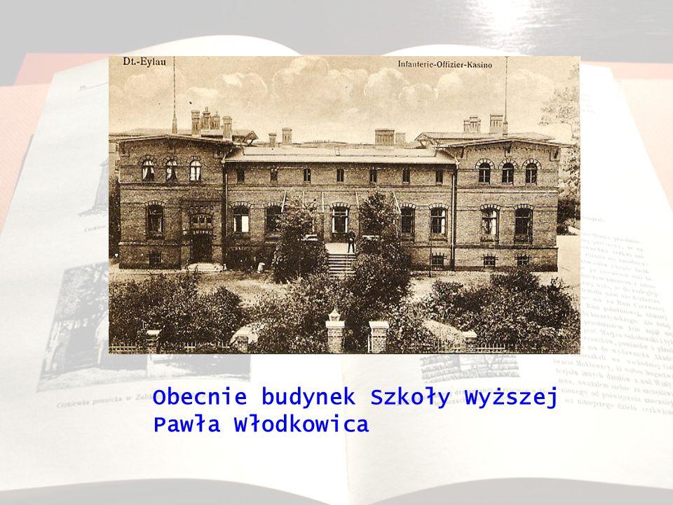 Obecnie budynek Szkoły Wyższej