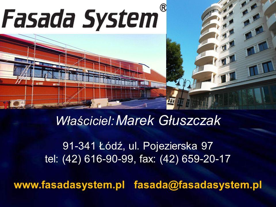 Właściciel: Marek Głuszczak