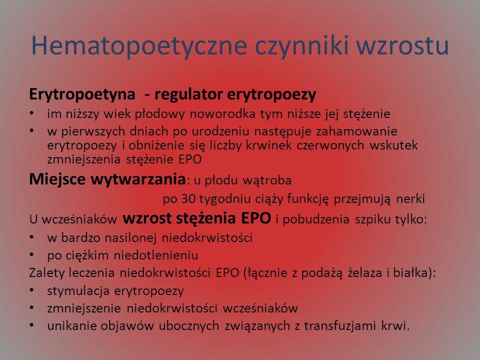 Hematopoetyczne czynniki wzrostu