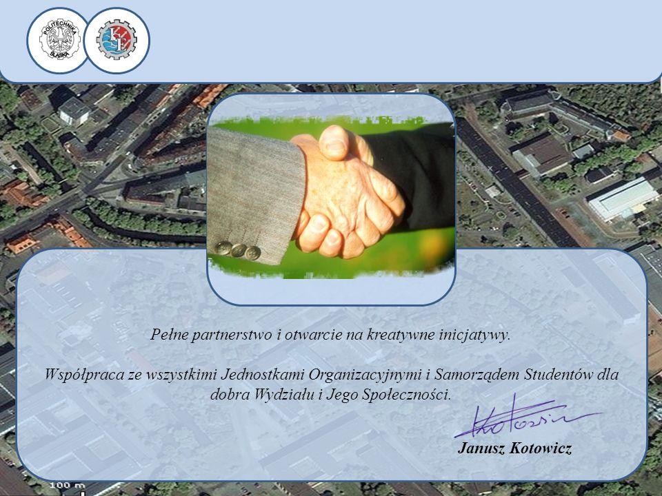 Pełne partnerstwo i otwarcie na kreatywne inicjatywy.