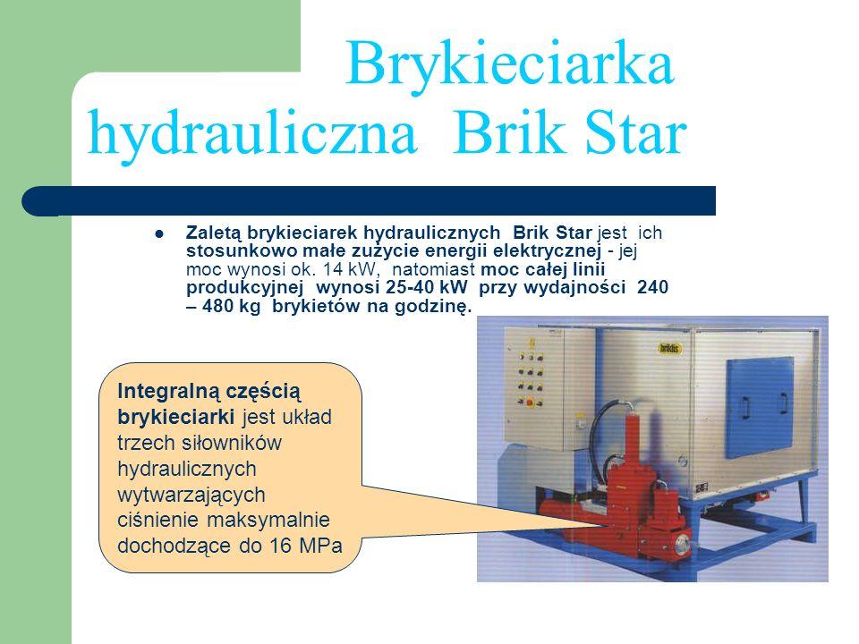 Brykieciarka hydrauliczna Brik Star