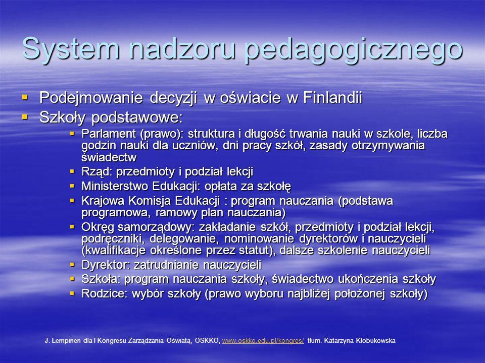 System nadzoru pedagogicznego