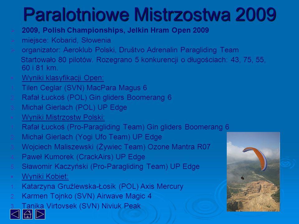 Paralotniowe Mistrzostwa 2009