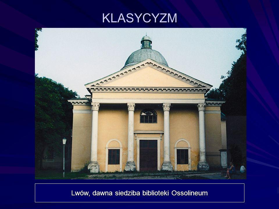 Lwów, dawna siedziba biblioteki Ossolineum