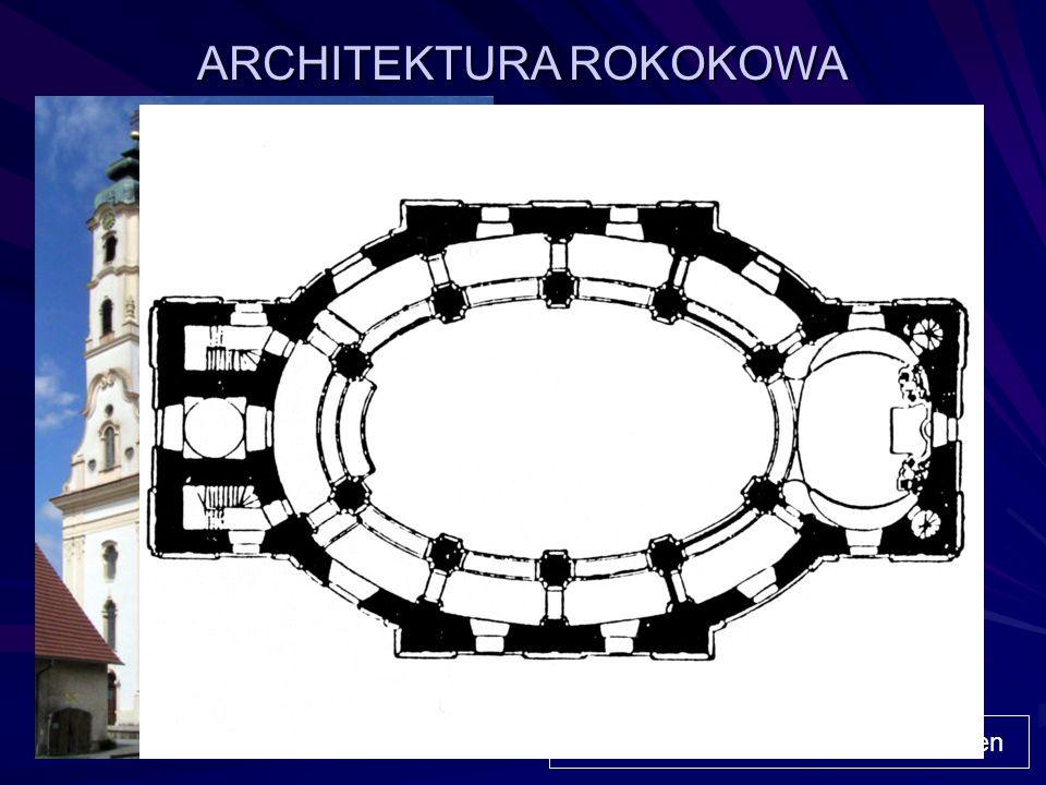ARCHITEKTURA ROKOKOWA