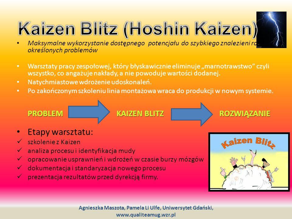 Kaizen Blitz (Hoshin Kaizen)