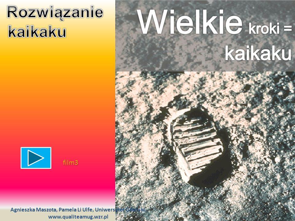 Wielkie kroki = kaikaku Rozwiązanie kaikaku film3