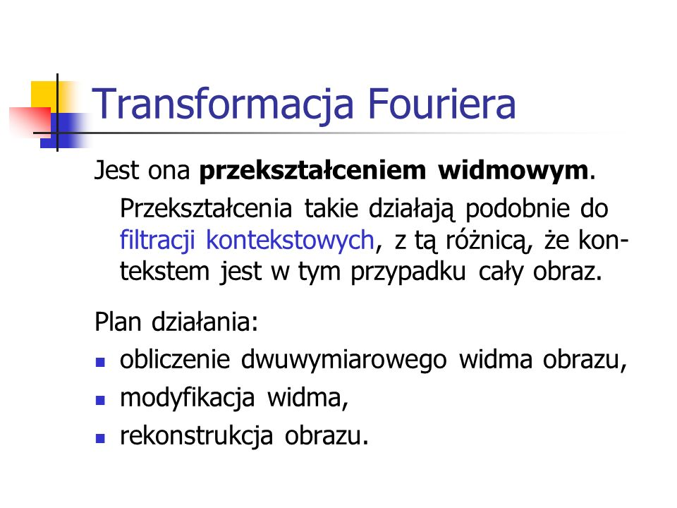 Transformacja Fouriera