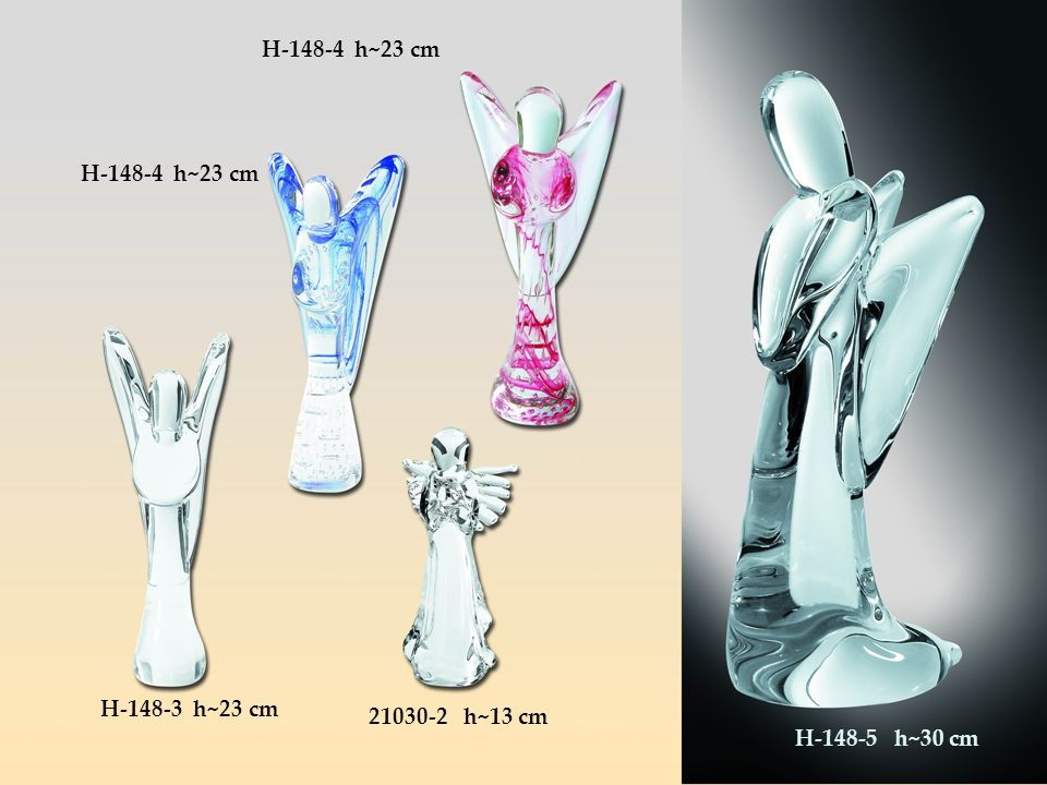 H-148-4 h~23 cm H-148-4 h~23 cm H-148-3 h~23 cm 21030-2 h~13 cm H-148-5 h~30 cm