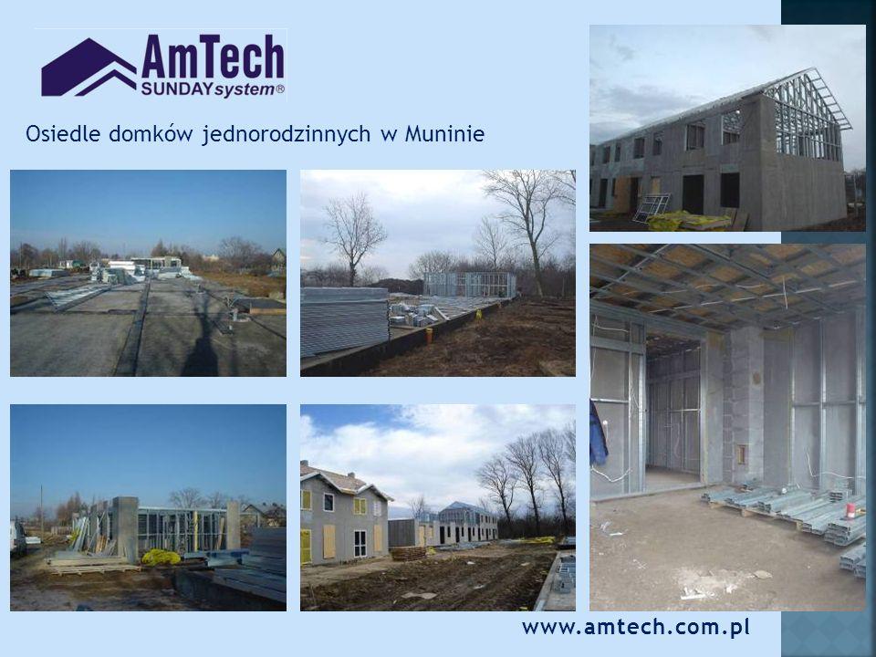 Osiedle domków jednorodzinnych w Muninie