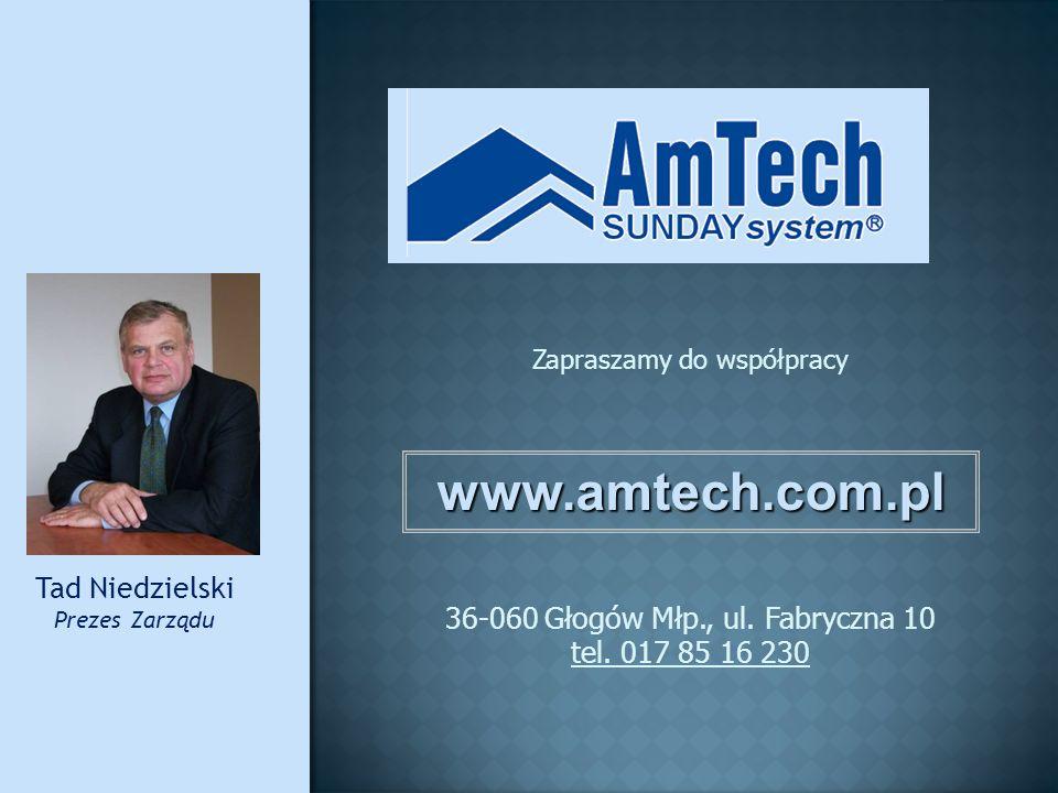 www.amtech.com.pl Tad Niedzielski 36-060 Głogów Młp., ul. Fabryczna 10