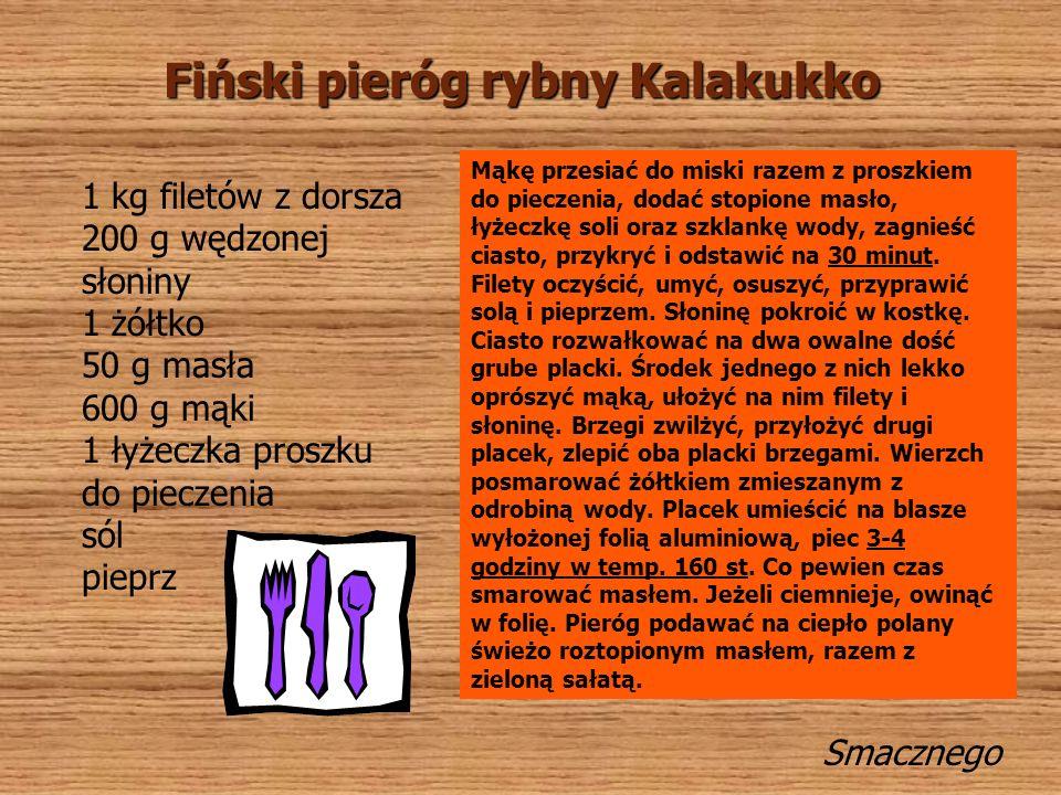 Fiński pieróg rybny Kalakukko