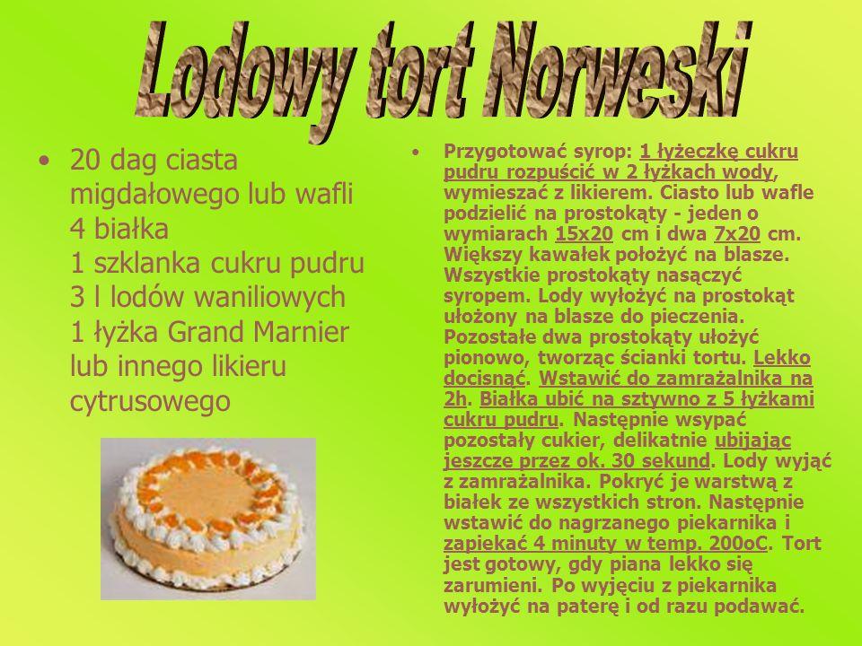 Lodowy tort Norweski
