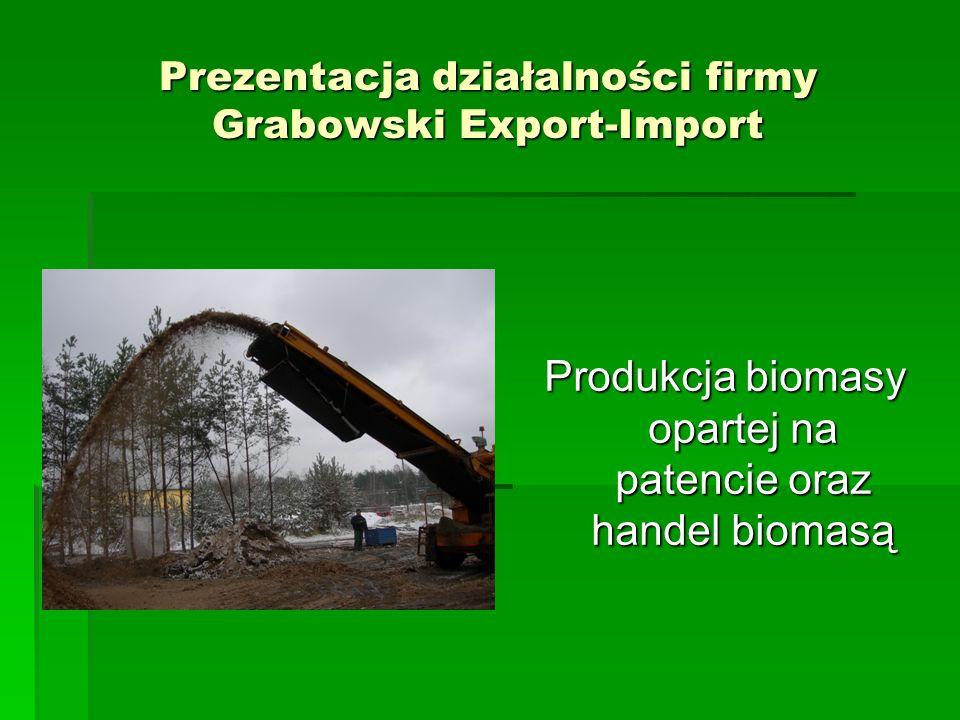 Prezentacja działalności firmy Grabowski Export-Import