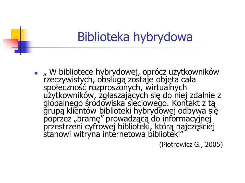 Biblioteka hybrydowa