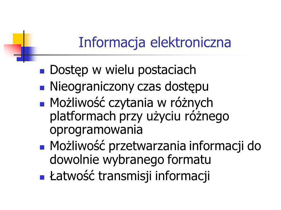 Informacja elektroniczna