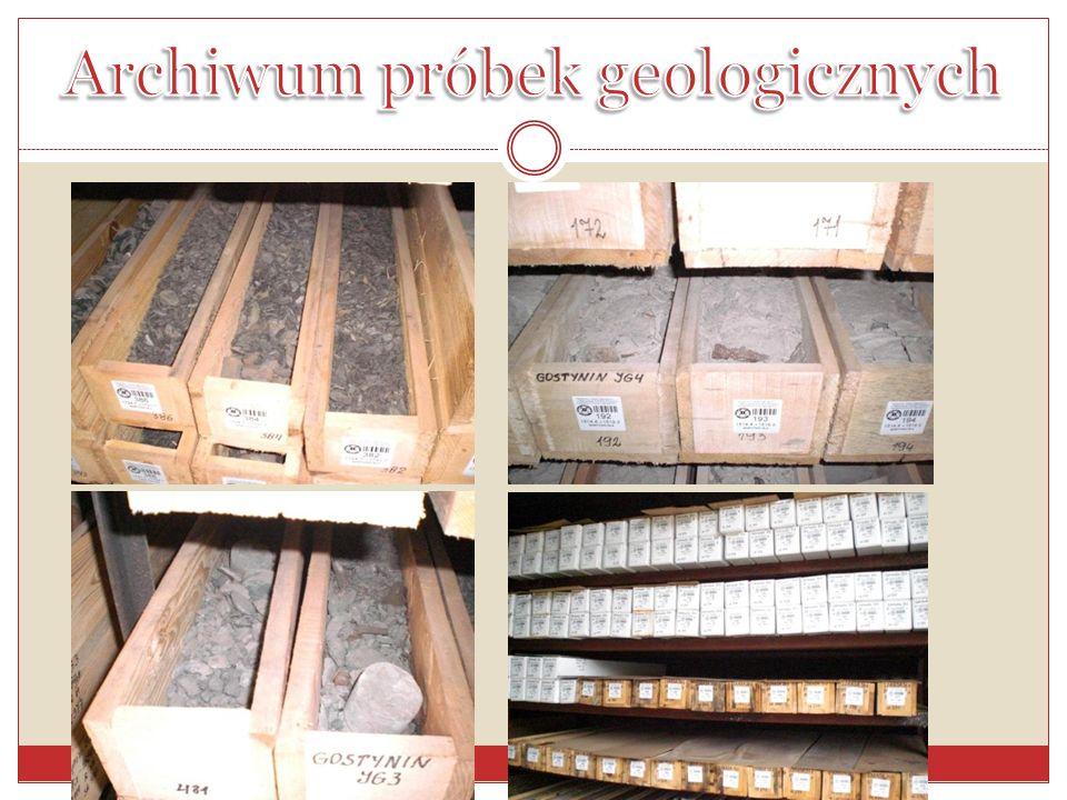 Archiwum próbek geologicznych