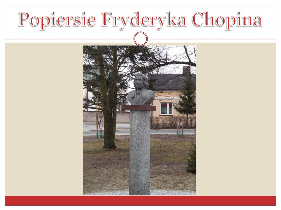 Popiersie Fryderyka Chopina
