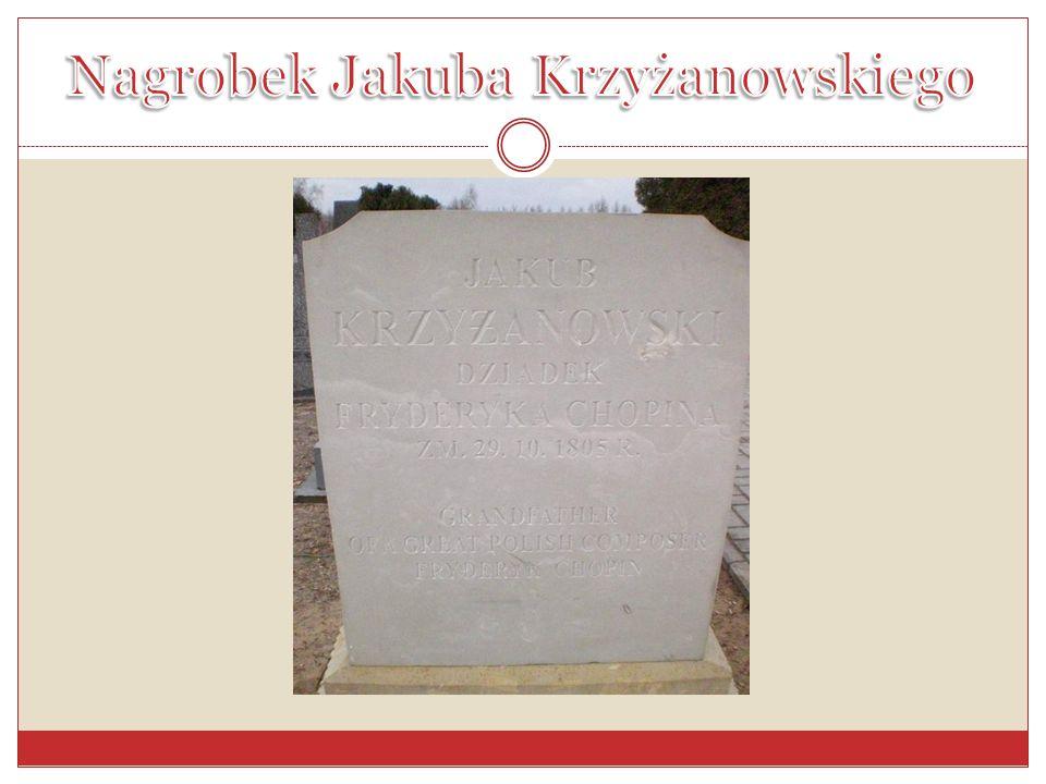 Nagrobek Jakuba Krzyżanowskiego