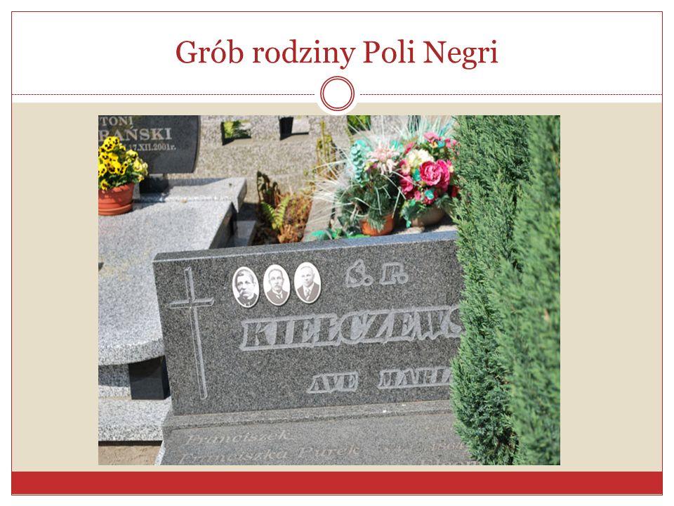 Grób rodziny Poli Negri