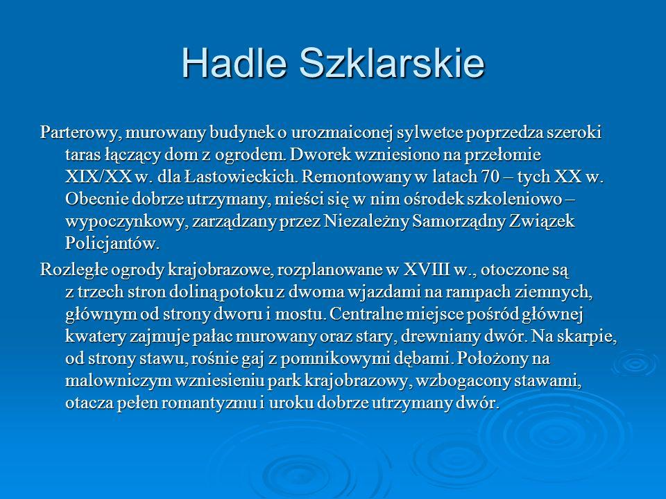 Hadle Szklarskie