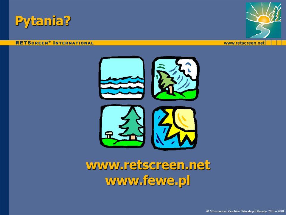 www.retscreen.net www.fewe.pl