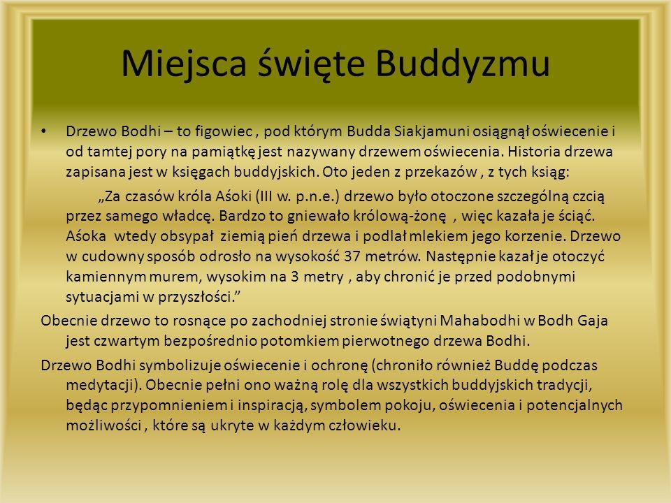 Miejsca święte Buddyzmu