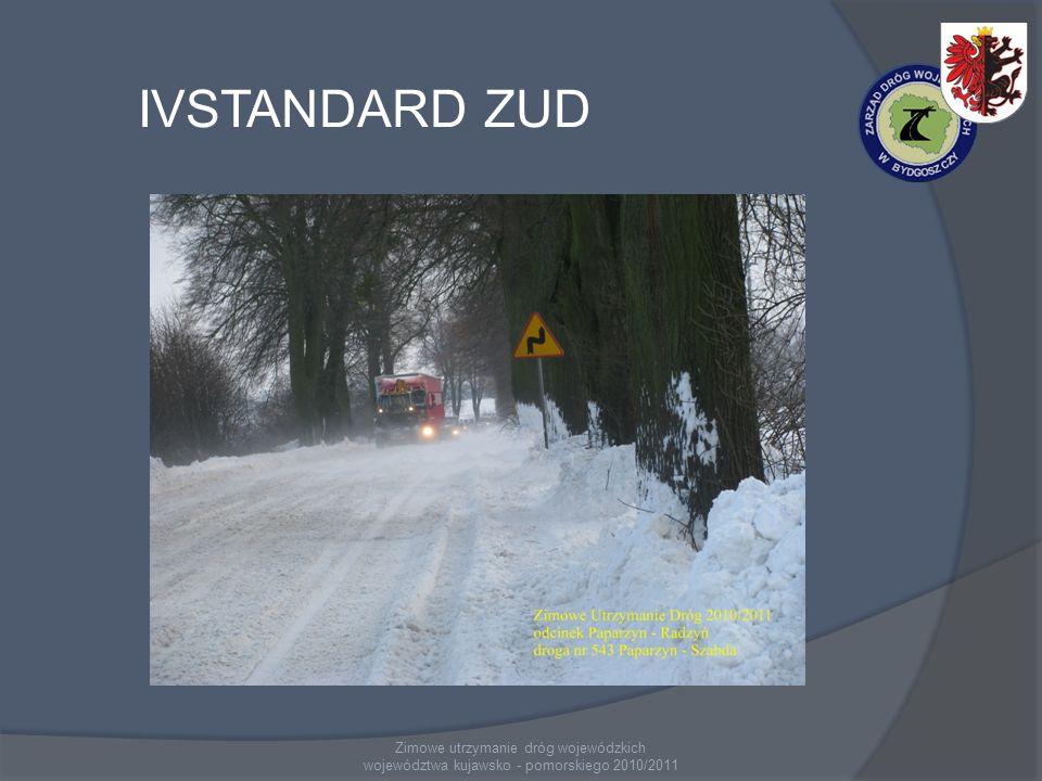 IVSTANDARD ZUD Zimowe utrzymanie dróg wojewódzkich województwa kujawsko - pomorskiego 2010/2011