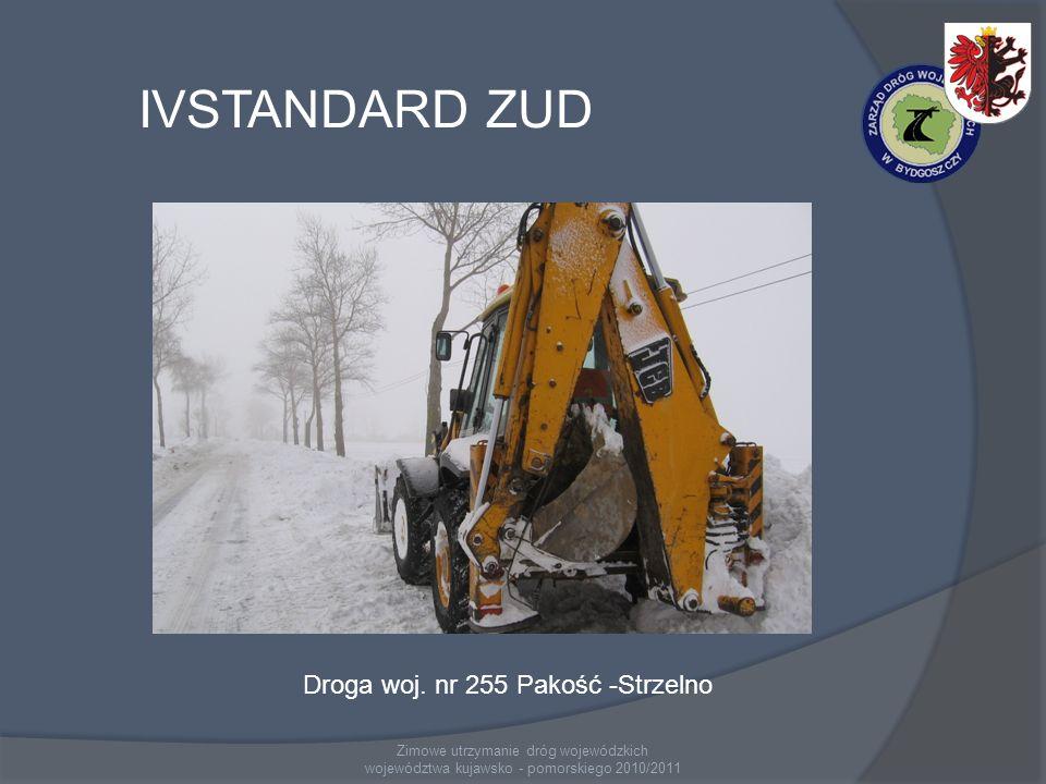 IVSTANDARD ZUD Droga woj. nr 255 Pakość -Strzelno