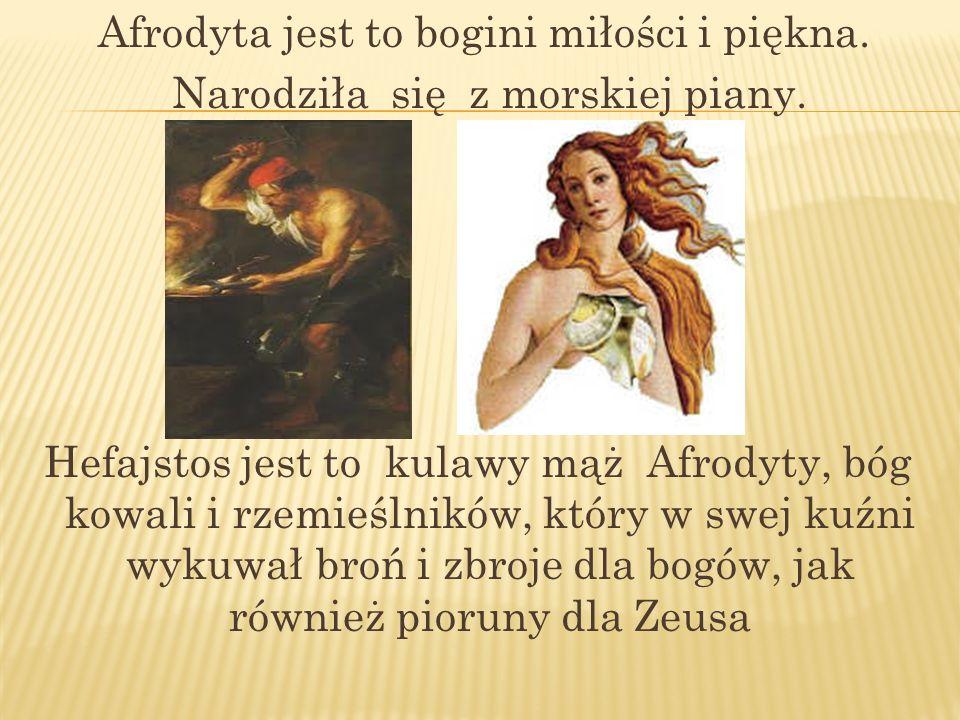 Afrodyta jest to bogini miłości i piękna