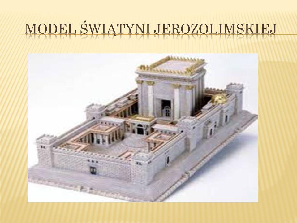 Model świątyni jerozolimskiej