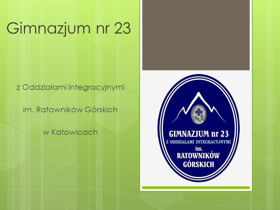 z Oddziałami Integracyjnymi im. Ratowników Górskich w Katowicach