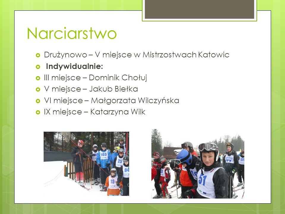 Narciarstwo Drużynowo – V miejsce w Mistrzostwach Katowic