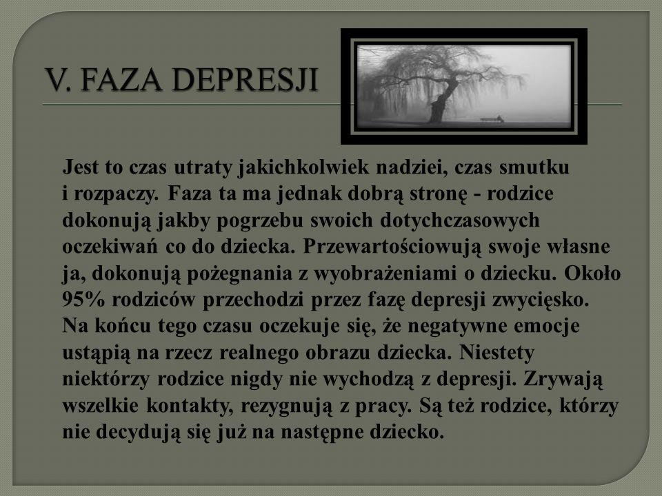 V. FAZA DEPRESJI