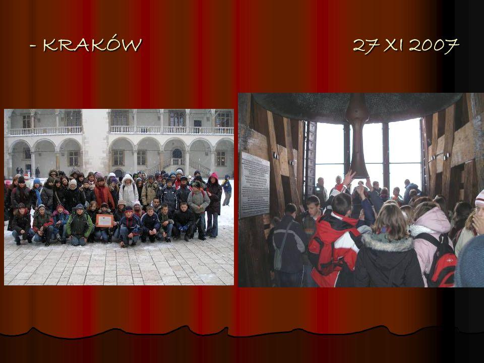 - KRAKÓW 27 XI 2007