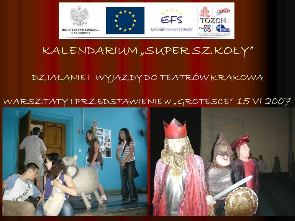 """KALENDARIUM """"SUPER SZKOŁY"""