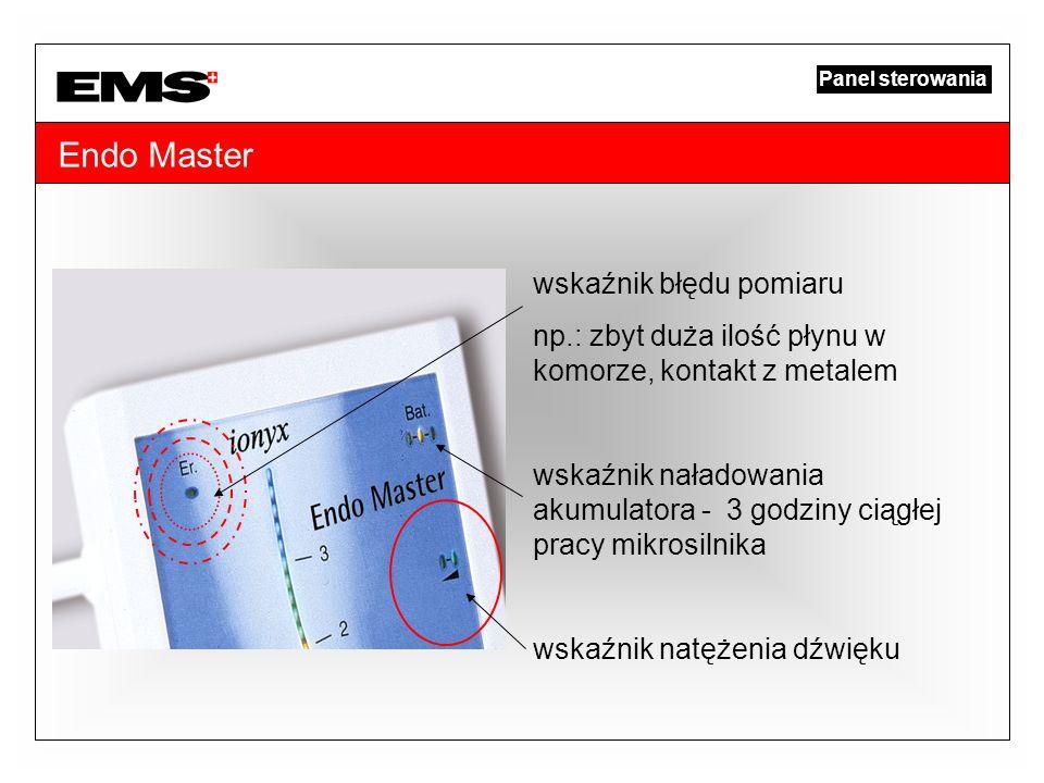 Endo Master wskaźnik błędu pomiaru