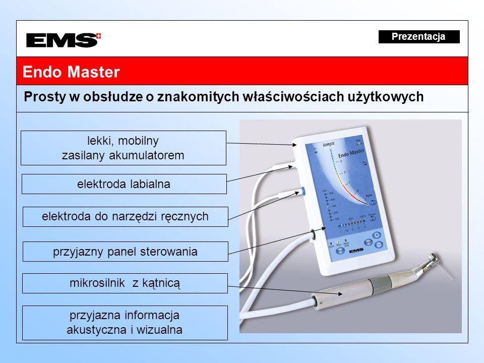 Endo Master Prosty w obsłudze o znakomitych właściwościach użytkowych