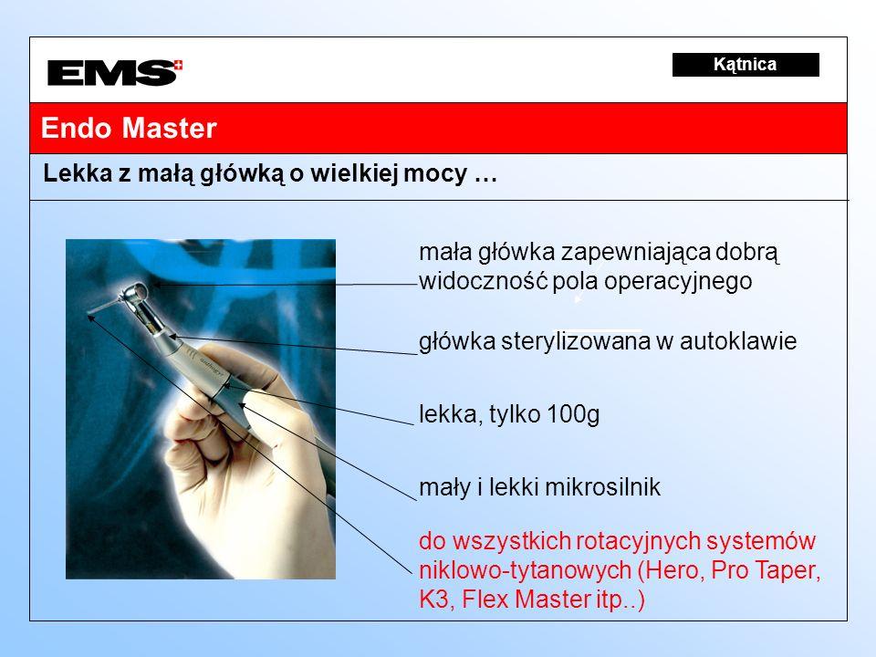 Endo Master Lekka z małą główką o wielkiej mocy …
