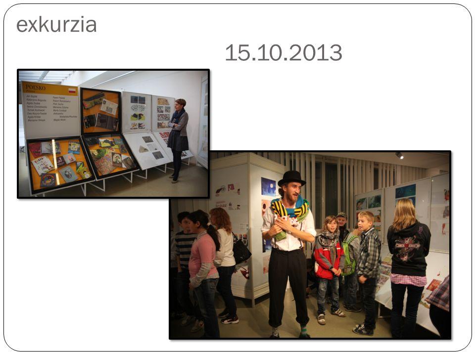 24.Bienále ilustrácií Bratislava – exkurzia 15.10.2013