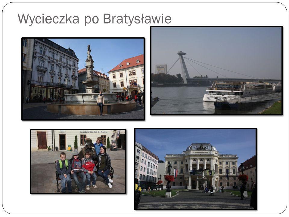Wycieczka po Bratysławie