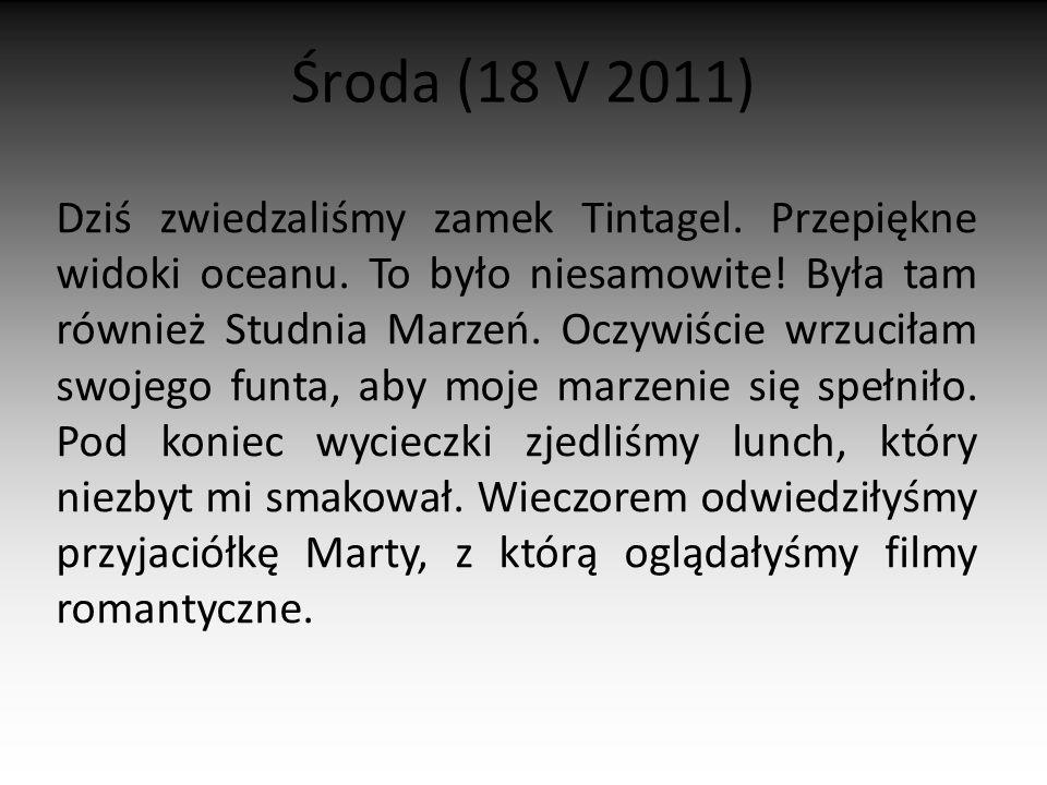 Środa (18 V 2011)