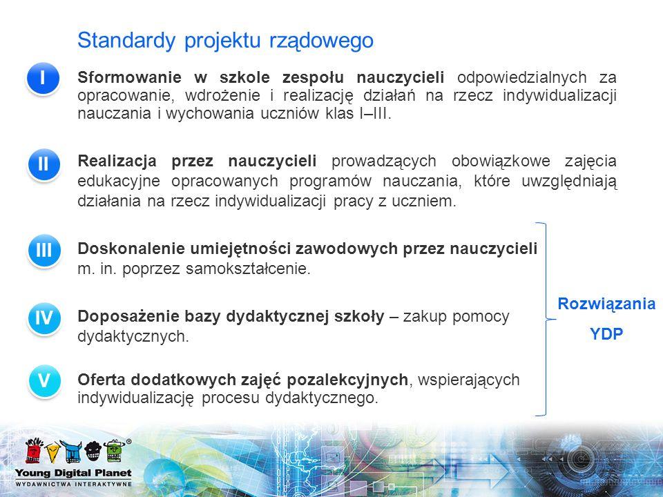 Standardy projektu rządowego